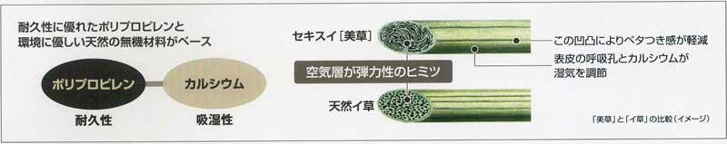 「美草」素材構造