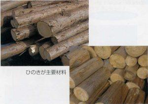 ひのき畳の木