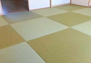 琉球畳風へりなし イ草の畳