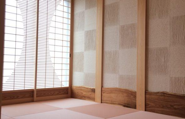薄桜色の畳